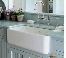 One day, I'll have one of these...but it will be divided. I cannot live in a house without a farmhouse cast-iron sink.
