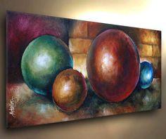 "Painting 48"" Modern Art Contemporary DECOR Mix Lang  Original Textured Design #Expressionism"