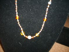 Brown Beaded Necklace $2.00