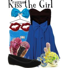 """Kiss the Girl"" by lalakay on Polyvore #disney"
