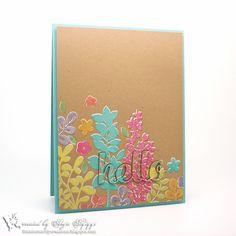 Paper Smooches • Botanicals 2 • Hello