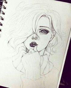 Excellent Drawing Faces With Graphite Pencils Ideas. Enchanting Drawing Faces with Graphite Pencils Ideas. Kunst Inspo, Art Inspo, Anime Kunst, Anime Art, Cute Drawings, Drawing Sketches, Sketching, Sketch Art, Pencil Drawings