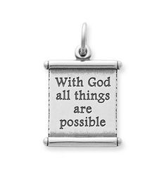 """""""All Things Are Possible"""" Scroll: James Avery"""