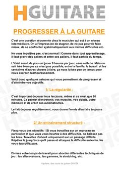 Conseils et Astuces #1 : Comment progresser en guitare ?