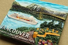 Canada Vancouver Souvenir fridge magnet