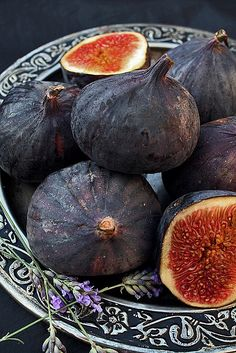 Cider House Turkish Figs & Lavender *** by Sandra Fruit And Veg, Fruits And Vegetables, Fresh Fruit, Fruit Of The Month, Fruits Images, Cider House, Fruit Painting, Fruit Plants, Weird Food