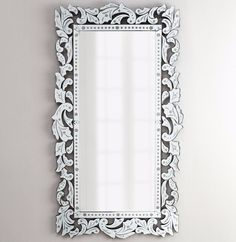 "New Horchow 72"" Gianeta Venetian Glass Wall Mirror Italian Living Bedroom Dining #Hollywood_Regency #Traditional_home #Italian_design #Baroque_style #architectural_digest #venetian_mirror #ornate_mirror #italian_design #vanity_mirror #dressing_mirror #bathroom_mirror"