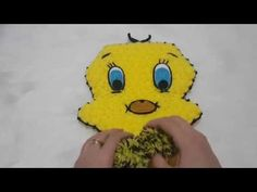 Tweety Çizgi Karakter Lif Yapımı - YouTube Blanket Stitch, Tweety, Pikachu, Make It Yourself, Knitting, Istanbul, Youtube, Farmhouse Rugs, Gourmet