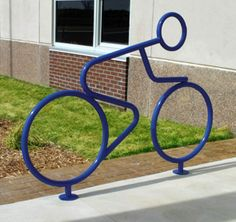 Bike rack or bike? Both!