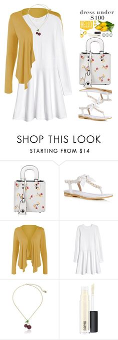 Easter Outfit: Dresses Under $100 by beebeely-look on Polyvore featuring Betsey Johnson, MAC Cosmetics, Easter, preppy, springfashion, under100 and twinkledeals