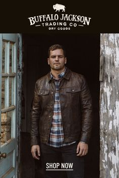This vintage style brown leather jacket gives any outfit a classic rugged aesthetic. Keep it classy and casual — the more you wear this biker jacket, the better it looks and feels. Great gift for men! Leather Jacket Outfits, Men's Leather Jacket, Leather Jackets, Leather Men, Brown Leather, Casual Professional, Stylish Mens Outfits, Great Gifts For Men, Mens Clothing Styles