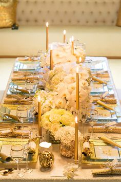 Gold glitz New Years Party inspiration   Photo by Scott Clark Photo   Read more -  http://www.100layercake.com/blog/?p=65987