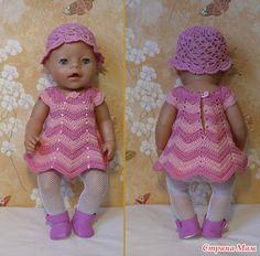 Платье - Гардероб для куклы - Страна Мам