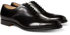 Church's London Leather Oxford Brogues