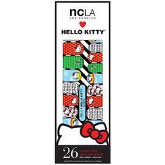 Buy NCLA Nail Wraps, Hello Kitty Rainbow Beauty.com