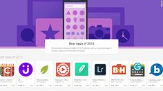The Best Apps of 2015 According to Apple and Google | Dec. 10, 2015 | CNN Money