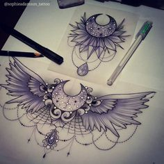 "2,109 Likes, 15 Comments - sophie adamson (@sophieadamson_tattoo) on Instagram: ""New designs id really like to tattoo! Stop by The Projects Tattoo or Email/ pm me…"""