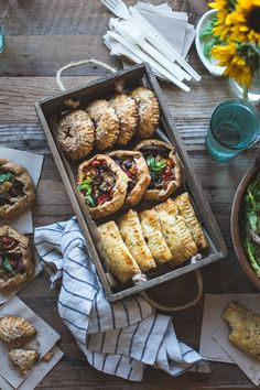 The flavors of eggplant parmesan – roasted eggplant, tomato, basil, mozzarella and parmesan – come together in a flaky gluten-free pie crust for portable deliciousness. *Many thanks to Cog Works fo…