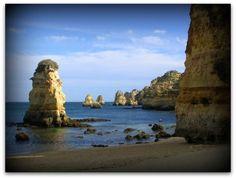 Portugal is so beautiful. #portugal #beach #beaches #seastacks