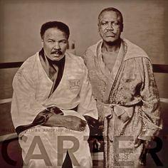 Muhammad Ali & Joe Frazier.