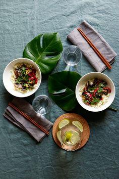 Portabello wok