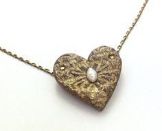 #SALE #Valentine #Heartnecklace by PaperJewelryDesign - Dafna Yarom