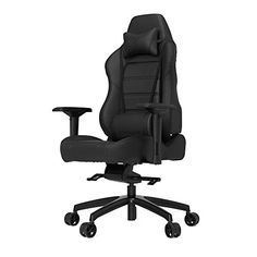 Vertagear PLine PL6000 Racing Series Ergonomic Gaming Office Chair Rev 2 Black *** Check this awesome product by going to the link at the image.Note:It is affiliate link to Amazon.