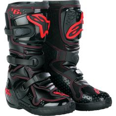 I wear out my riding boots very fast. I use my feet to hold on tight to the bike and every time I ride they get covered in mud. I have gone through a couple of pairs of Alpinestar Tech 6 Boots and they are my favorite. No matter what kind of boots you… Dirt Bike Riding Gear, Dirt Bike Boots, Mens Motorcycle Boots, Atv Boots, Motosport, Cheap Boots, Dirtbikes, Biker Style, Kids Boots