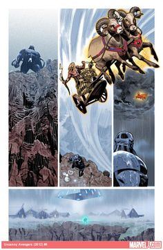 Check out yesterday's Marvel: Next Big Thing Liveblog featuring writer Rick Remender and editor Tom Brevoort as they discuss their plans for the epic second arc of UNCANNY AVENGERS! What do you think of this amazing preview art by John Cassady and Daniel Acuna?    http://marvel.com/news/story/19804/uncanny_avengers_next_big_thing_liveblog