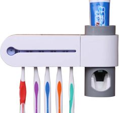 I looked at these on Amazon and REALLY wanted one (automatic toothpaste dispenser!!!) but figured it would probably not work very long.