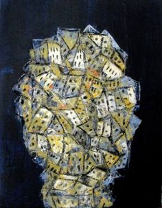 "Saatchi Art Artist Paolo Cervino; Painting, ""City Crac n. 42"" #art"