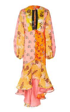 149b41e79a M O Exclusive Printed Meli Dress by SILVIA TCHERASSI for Preorder on Moda  Operandi Orange