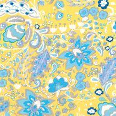 Dena Fishbein - Sunshine Cotton Linen - Bellflower in Yellow