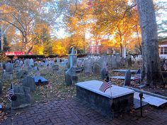 Colonial Graveyard at old city church Philadelphia   c 2014 Stephen Wolper