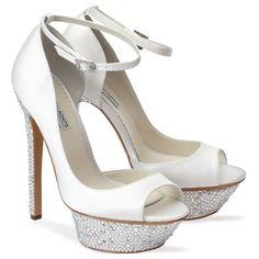Benjamin Adams Uma - Wedding Shoes - Crystal Bridal Accessories