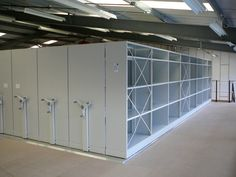 Clean, durable heavy duty storage for warehouses, offices and commercial businesses, designed to meet your needs. www.compactstorage.co.uk/mobile-shelving/maxstor/