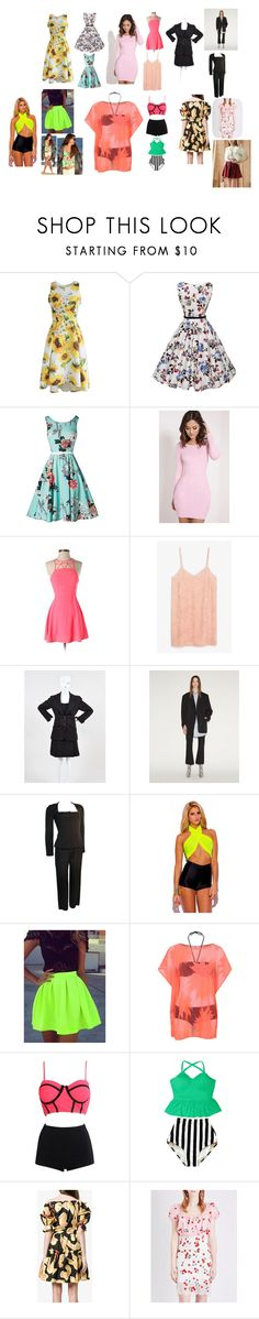 """""""Women 2017 Spring Wear"""" by shayharriss14 on Polyvore featuring Chicwish, American Eagle Outfitters, Monki, Chanel, Vetements, Versace, Retrò, George, WithChic and Dolce&Gabbana"""