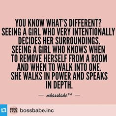 I'm a boss babe! Great Quotes, Quotes To Live By, Me Quotes, Motivational Quotes, Inspirational Quotes, Music Quotes, Girly Quotes, Drawn Quotes, 2015 Quotes
