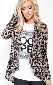 Leopard Print Cardigan Sweater   #MMCStyle #MMCSweepStakes