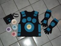 Wild Kratts Creature Power Suit party favors...