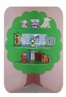 Classroom / library decoration and functional bookcase