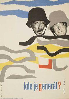 Posteritati: Where is the General? 1964 Czech Republic A3 (12x17)