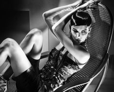 Brittani Kline (Photography by Vincent Peters)   2011