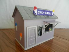 New Orleans Snowball Stand Birdhouse by BigEasyBirdhouses on Etsy