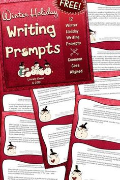 My holiday gift to you . . . 12 unique, creative, and FUN writing prompts that commemorate winter holidays around the world with brief background information included for each holiday. Use one a day in December or use all the task cards for one activity! Holidays include Hanukkah, St. Nicholas Day, Fiesta of Our Lady of Guadalupe, Winter Solstice, Festivus, Christmas, Boxing Day, Kwanzaa, Ramadan, Omisoka, and New Year's Eve.