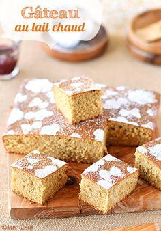 Avez-vous déjà testé le gâteau au lait chaud ? Quelle texture extra ! tellement légère… si moelleuse…