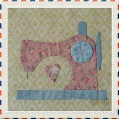 #27 Sewing Machine by Pat Sloan