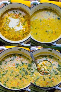 A light, fresh and summery corn and zucchini chowder that is easy to make and packed with flavour! Chowder Recipes, Corn Recipes, Veggie Recipes, Vegetarian Recipes, Slow Cooker Recipes, Cooking Recipes, Cauliflower Soup, Soups And Stews, Vegetarische Rezepte
