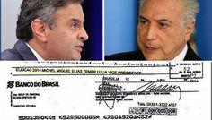 Por que um delator que doou 20 milhões para um candidato com qual teve um negócio de 1 bilhão foi lembrar de um cheque de 1 milhão que, segundo ele, havia sido dado a campanha de Dilma? Fonte: Assi…