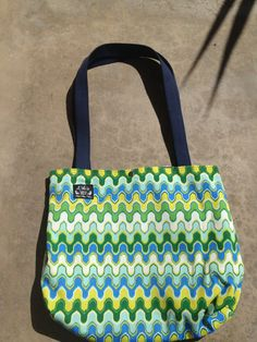 Tote Beach Shopping bag. all in one by LILOsDesign on Etsy, $35.00